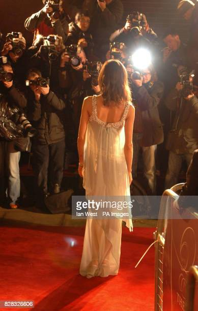 Thandie Newton arrives at the Pre Bafta London party hosted by UIP and Variety at Spencer House central London Saturday 18th February 2006 The party...