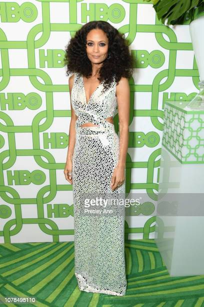 Thandie Newton attends HBO's Official Golden Globe Awards After Party at Circa 55 Restaurant on January 6 2019 in Los Angeles California