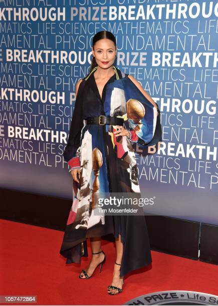 Thandie Newton attends the 2019 Breakthrough Prize at NASA Ames Research Center on November 4 2018 in Mountain View California
