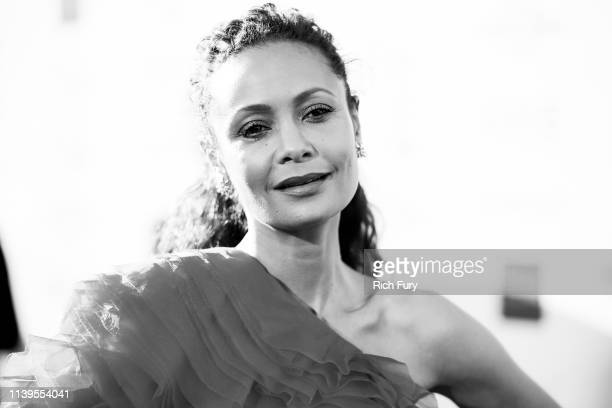 Thandie Newton attends the 50th NAACP Image Awards at Dolby Theatre on March 30 2019 in Hollywood California