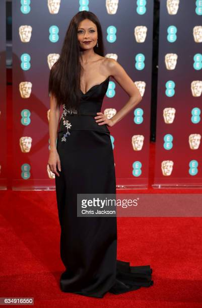 Thandie Newton attends the 70th EE British Academy Film Awards at Royal Albert Hall on February 12 2017 in London England