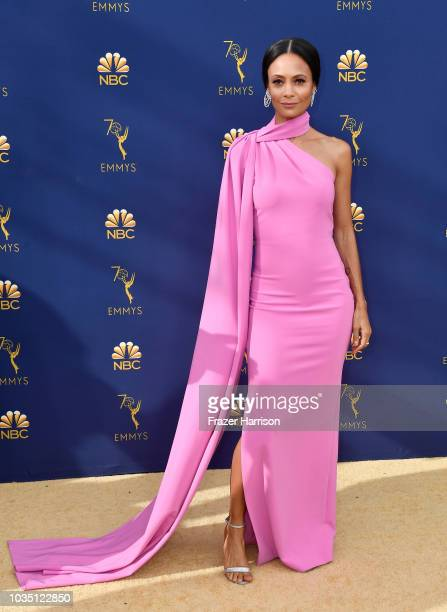 Thandie Newton attends the 70th Emmy Awards at Microsoft Theater on September 17 2018 in Los Angeles California