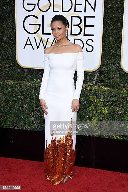 Thandie Newton attends the 74th Annual Golden Globe Awards at The Beverly Hilton Hotel on January 8 2017 in Beverly Hills California
