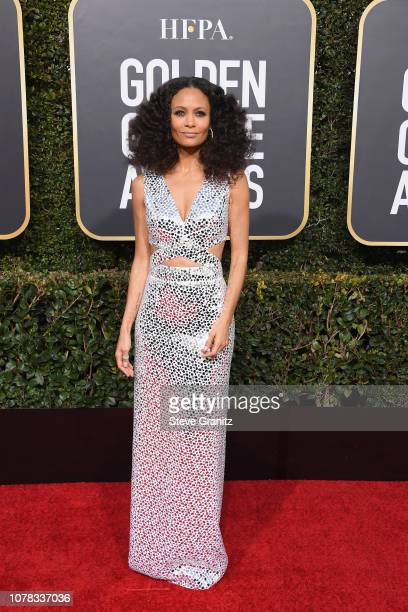 Thandie Newton attends the 76th Annual Golden Globe Awards at The Beverly Hilton Hotel on January 6 2019 in Beverly Hills California