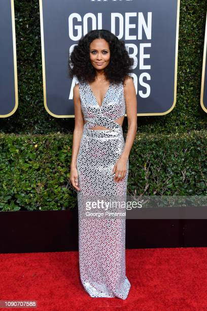 Thandie Newton attends the 76th Annual Golden Globe Awards held at The Beverly Hilton Hotel on January 06 2019 in Beverly Hills California