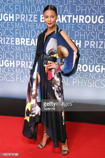 Thandie Newton attends the 7th Annual Breakthrough Prize Ceremony at NASA Ames Research Center on November 4 2018 in Mountain View California