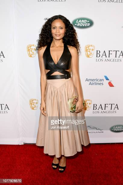 Thandie Newton attends The BAFTA Los Angeles Tea Party at Four Seasons Hotel Los Angeles at Beverly Hills on January 5 2019 in Los Angeles California