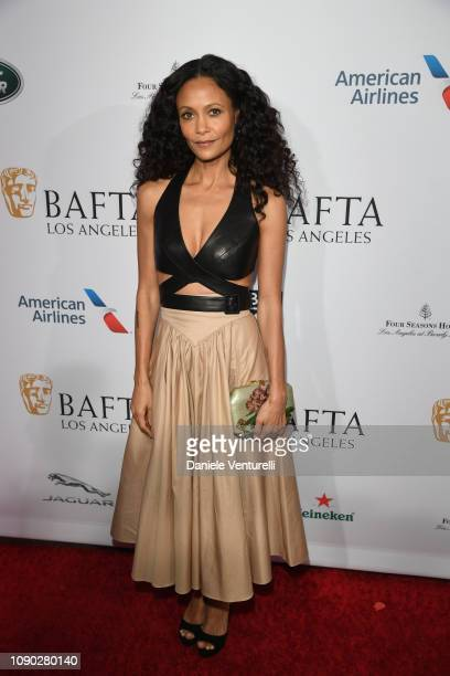 Thandie Newton attends The BAFTA Los Angeles Tea Party at Four Seasons Hotel Los Angeles at Beverly Hills on January 05 2019 in Los Angeles California