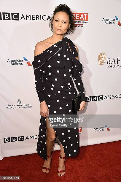 Thandie Newton attends The BAFTA Tea Party Arrivals at Four Seasons Hotel Los Angeles at Beverly Hills on January 7 2017 in Los Angeles California