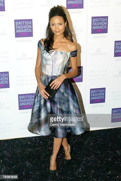 Thandie Newton attends the British Fashion Awards at the Royal Horticultural Halls on November 27, 2007 in London, England.