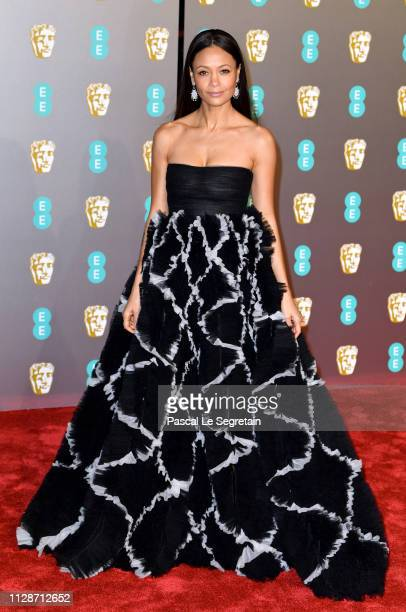 Thandie Newton attends the EE British Academy Film Awards at Royal Albert Hall on February 10 2019 in London England