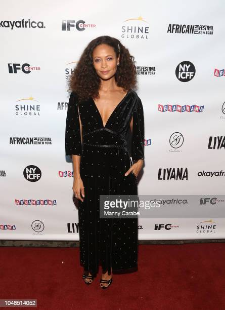 Thandie Newton attends the 'Liyana' New York Premiere at IFC Center on October 9 2018 in New York City