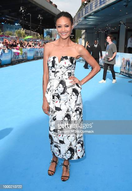 Thandie Newton attends the Mamma Mia Here We Go Again world premiere at the Eventim Apollo Hammersmith on July 16 2018 in London England