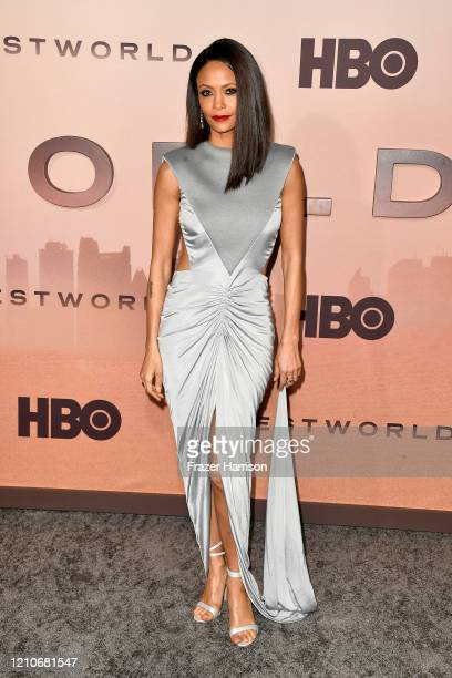 Thandie Newton attends the Premiere of HBO's Westworld Season 3 at TCL Chinese Theatre on March 05 2020 in Hollywood California
