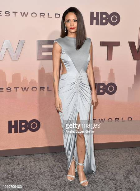 """Thandie Newton attends the premiere of HBO's """"Westworld"""" Season 3 at TCL Chinese Theatre on March 05, 2020 in Hollywood, California."""