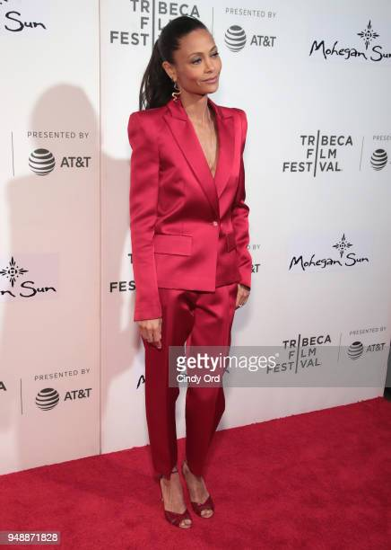Thandie Newton attends the premiere of 'Westworld' during the 2018 Tribeca Film Festival at BMCC Tribeca PAC on April 19 2018 in New York City