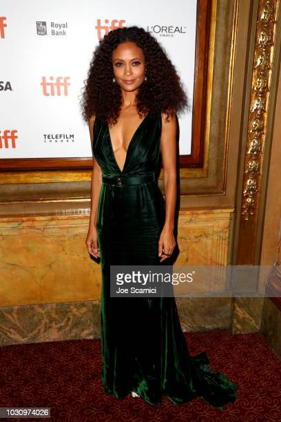 Thandie Newton attends the The Death And Life Of John F Donovan premiere during 2018 Toronto International Film Festival at Winter Garden Theatre on...