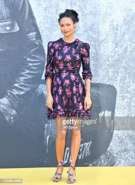 Thandie Newton attends the UK premiere of Yardie at the BFI Southbank on August 21 2018 in London England
