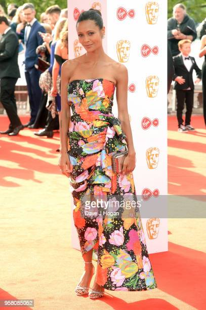 Thandie Newton attends the Virgin TV British Academy Television Awards at The Royal Festival Hall on May 13 2018 in London England