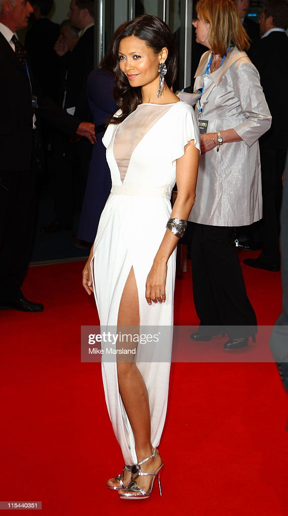 Thandie Newton attends the world premiere of RocknRolla at Odeon West End on September 1, 2008 in London, England.
