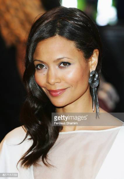 Thandie Newton attends the World Premiere of 'RocknRolla' held at the Odeon West End Leicester Square on September 1 2008 in London England