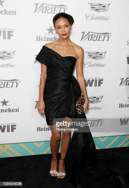 Thandie Newton attends Variety and Women In Film's 2018 PreEmmy Celebration at Cecconi's on September 15 2018 in West Hollywood California