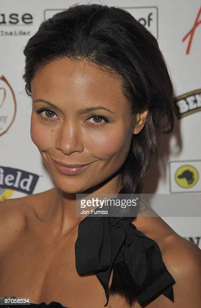 Thandie Newton attends VIP Screening of the Oscar nominated 'Food Inc' at The Curzon Mayfair on February 8, 2010 in London, England.