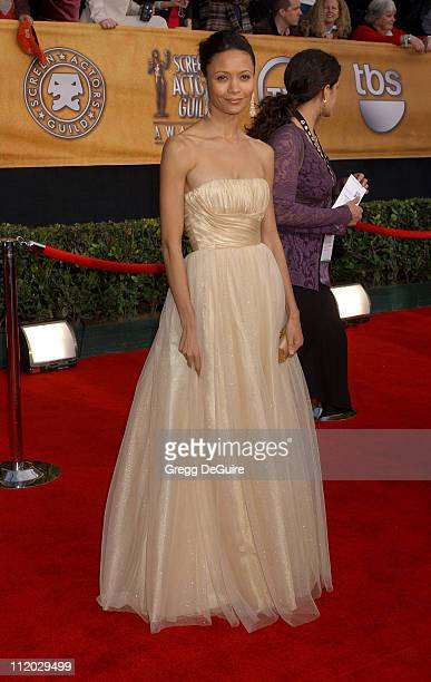 Thandie Newton during 12th Annual Screen Actors Guild Awards Arrivals at Shrine Expo Hall in Los Angeles California United States
