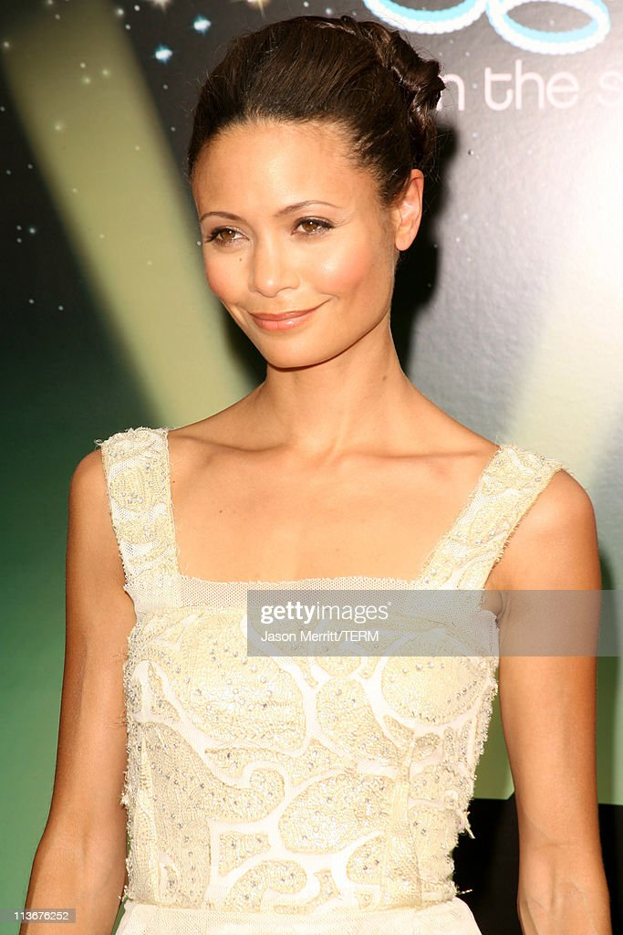 Thandie Newton during 2006 BET Awards - Arrivals at The Shrine in Los Angeles, California, United States.