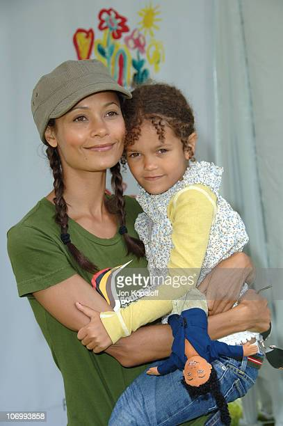 Thandie Newton during 'A Time for Heroes' Carnival Hosted By Disney Arrivals at Wadsworth Theater in Westwood California United States