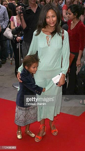 Thandie Newton during Brasil Brasileiro London Premiere at Sadler's Wells Theatre in London Great Britain