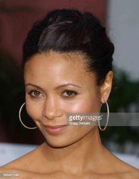 Thandie Newton during The Chronicles Of Riddick World Premiere Arrivals at Universal Amphitheatre in Universal City California United States