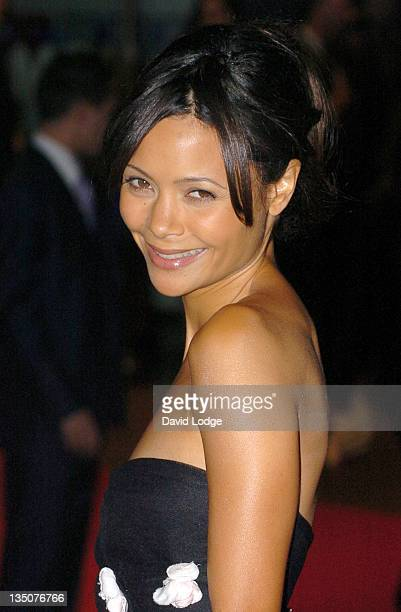 Thandie Newton during The Times BFI 50th London Film Festival Opening Night Gala 'The Last King of Scotland' Premiere at Odeon Leicester Square in...