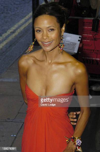 Thandie Newton during 'Volver' London Premiere Outside Arrivals at Curzon Mayfair in London Great Britain