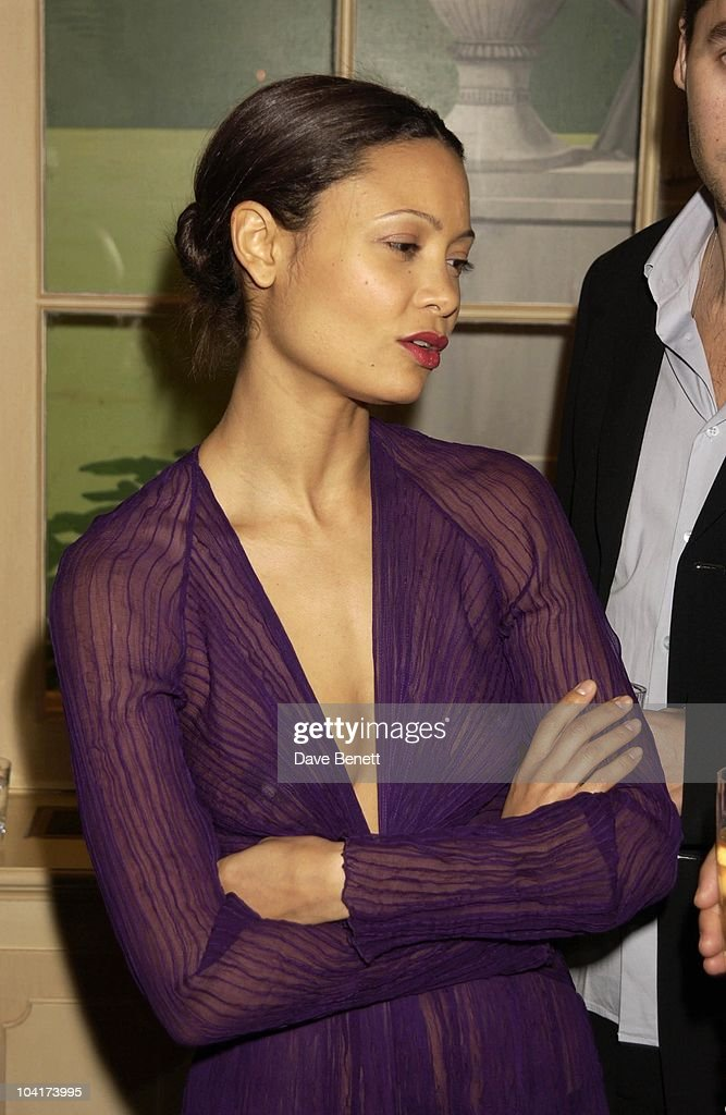 Thandie Newton, Merchant Ivory Celebrated Their 40th Year Of Collaboration And Also Their Bafta Award, By Having A Dinner At The Connaught Hotel For Many Of Their Friends