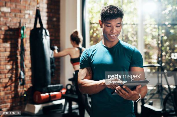 thank god for modern fitness apps - net sports equipment stock pictures, royalty-free photos & images