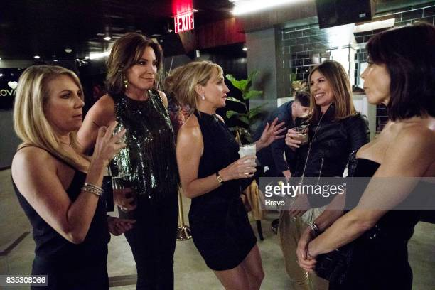 CITY 'Thank You and Good Night' Episode 919 Pictured Ramona Singer Luann D'Agostino Sonja Morgan Carole Radziwill Bethenny Frankel
