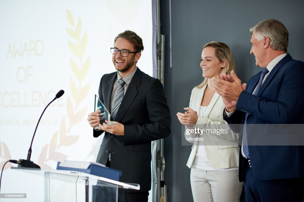 Thank you for honoring me today : Stock Photo