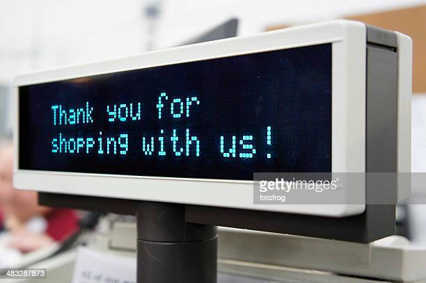 thank you for shopping - cash register stock pictures, royalty-free photos & images