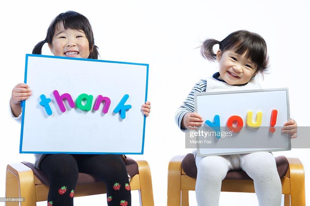 Thank you : Foto de stock