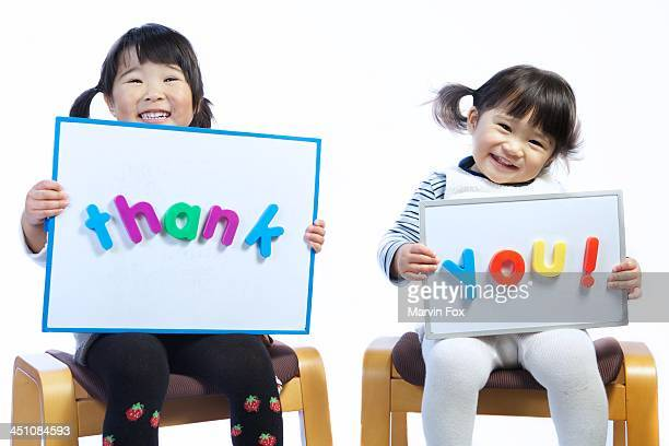 thank you - yonago stock pictures, royalty-free photos & images