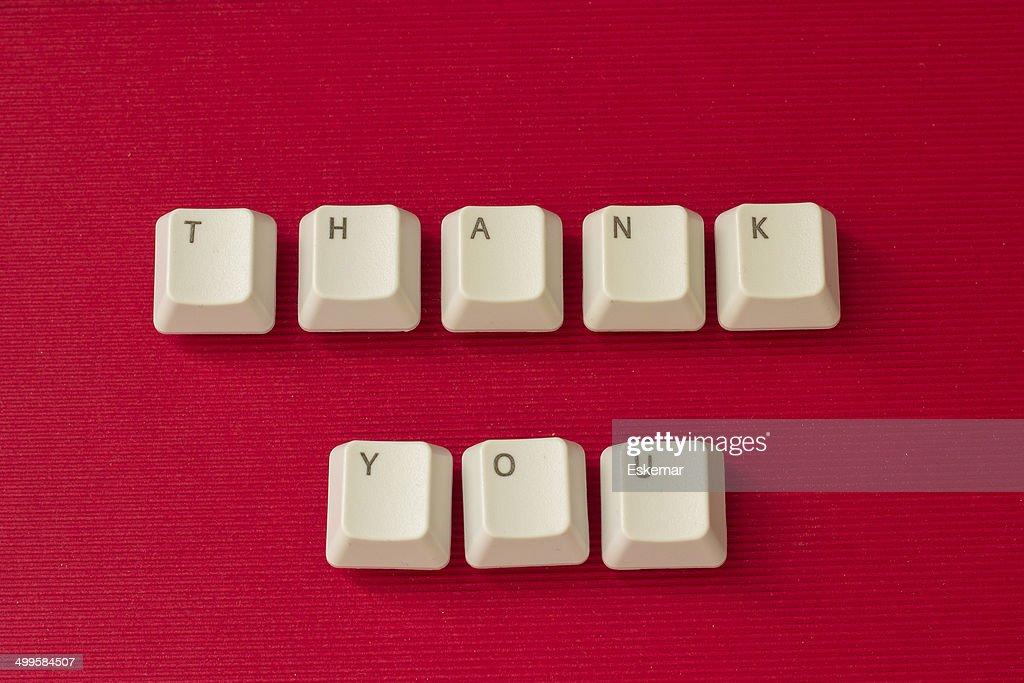 thank you : Stock Photo