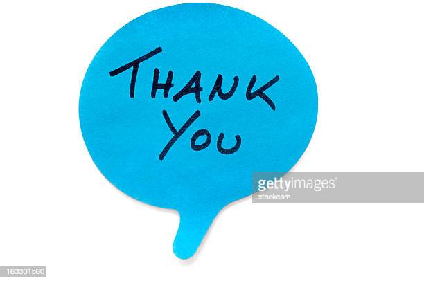 thank you post-it note - thanks quotes stock pictures, royalty-free photos & images