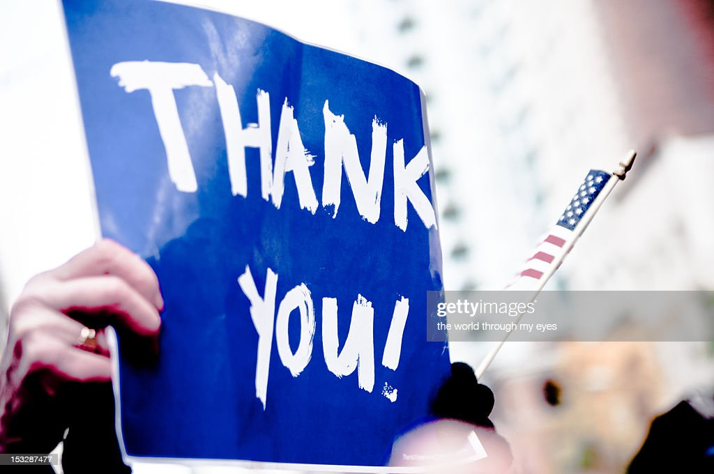Thank You sign : Stock Photo