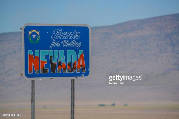 thanks for visiting nevada sign