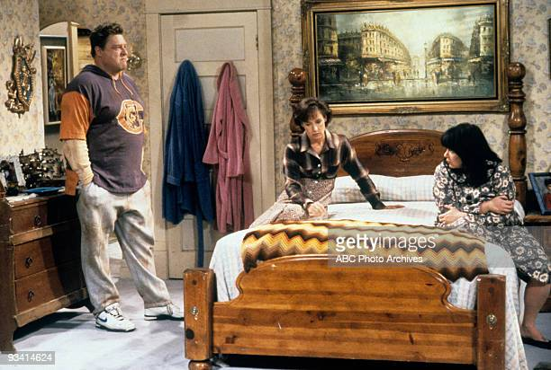 ROSEANNE Thanksgiving 1994 Season Seven 11/23/94 John Goodman Laurie Metcalf Roseanne Barr on the ABC Television Network comedy 'Roseanne' 'Roseanne'...