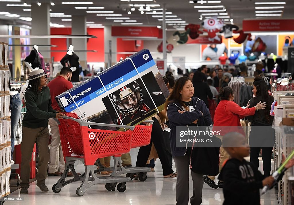 US-ECONOMY-SHOPPING : News Photo