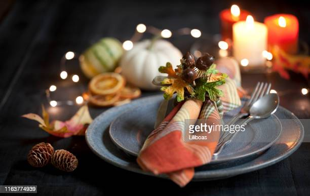 thanksgiving dining - thanksgiving plate of food stock pictures, royalty-free photos & images
