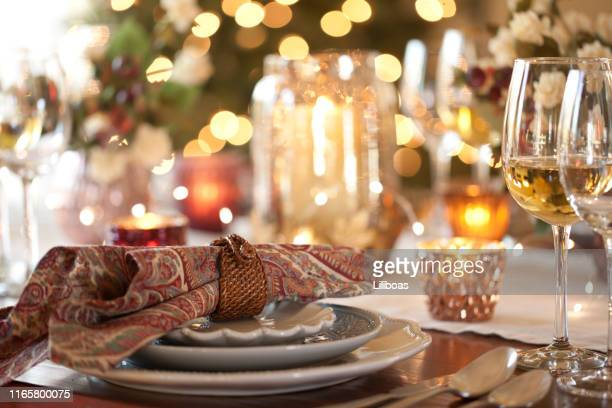 thanksgiving dining - old fashioned thanksgiving stock photos and pictures