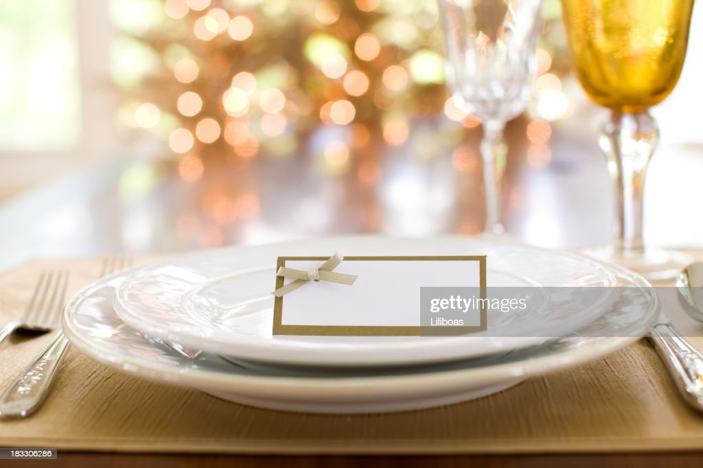 Thanksgiving Dining : Stock Photo